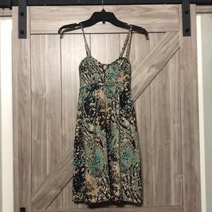 Bar III Dress,adjustable straps.Multi colors